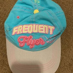 Disneyland frequent flyer hat authentic